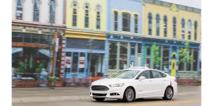 FORD IS FIRST AUTOMAKER TO TEST AUTONOMOUS CAR