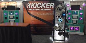 Kicker Displays Its First Marine Deck At Miami Boat Show